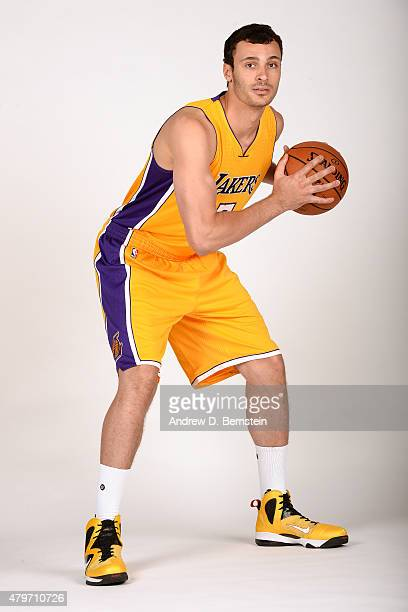 Larry Nance Jr #7 of the Los Angeles Lakers poses for a portrait at Toyota Sports Center on July 6 2015 in El Segundo California NOTE TO USER User...