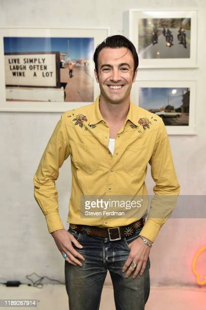 Larry Niehues attends his book launch & photography exhibition at Etiquette on November 21, 2019 in Brooklyn, New York.