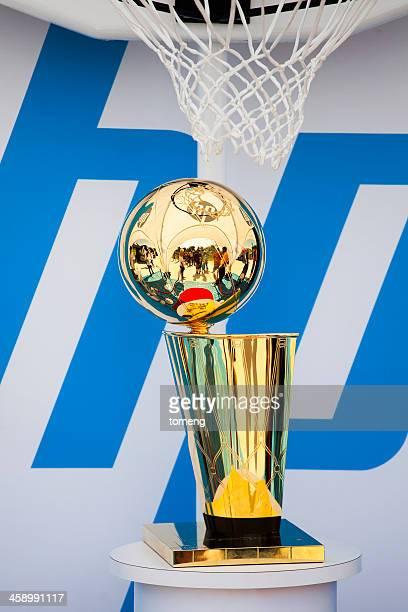 campeón larry o'brien trofeo de - trofeo de campeón larry o'brien fotografías e imágenes de stock