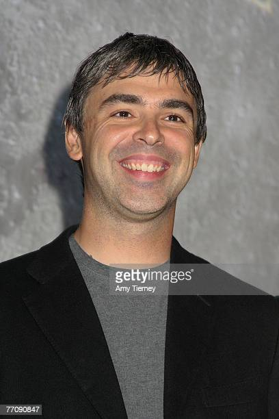 Larry Page Founder of Google at WIRED NextFest September 13 2007 in Los Angeles California