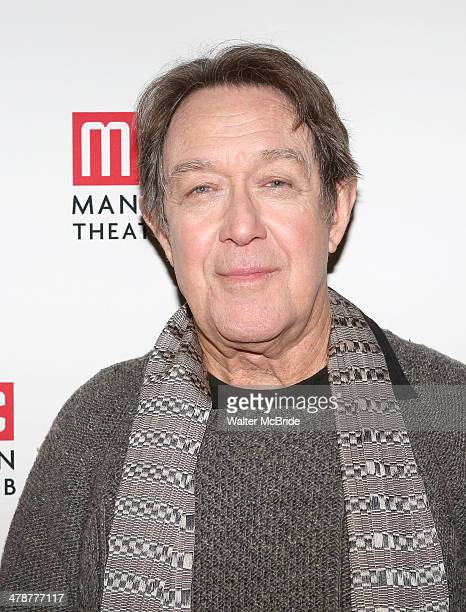 Larry Pine attends the Casa Valentina Cast Photo Call at Manhattan Theatre Club Rehearsal Studios on March 14 2014 in New York City