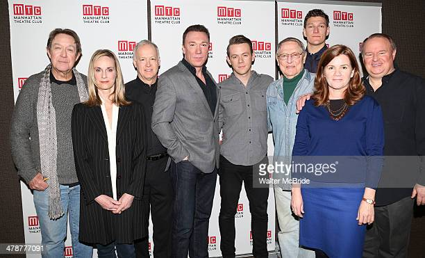 Larry Pine Lisa Emery Reed Birney Patrick Page Nick Westrate John Cullum Gabriel Ebert Mare Winningham and Tom McGowan attend the Casa Valentina Cast...