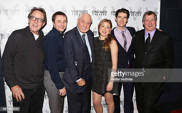 Larry Pine Vincent Kartheiser Garry Marshall Sophie von Haselberg Drew Gehling and Mike Bencivenga attend the OffBroadway opening Night Performance...