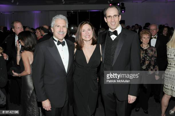 Larry Reichlin Norma Reichlin and Ken Resnik attend National Museum of American Jewish History Grand Opening Gala at Market Street 5th on November 13...