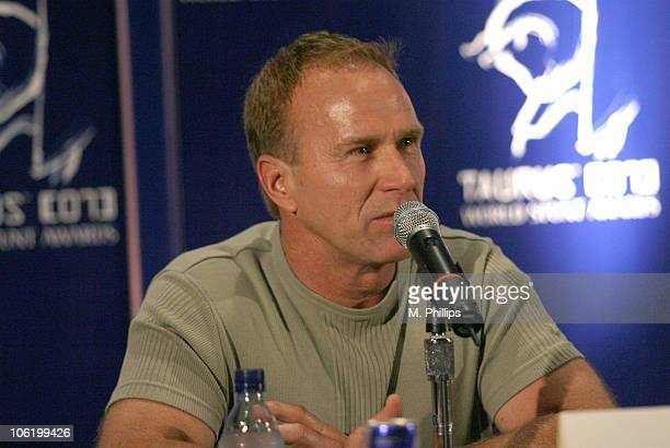 Larry Rippenkroeger during 2007 Taurus World Stunt Awards Press Conference at Paramount Studios in Hollywood California United States