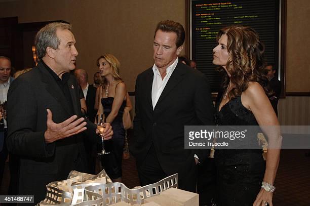 Larry Ruvo, Arnold Schwarzenegger and Maria Shriver
