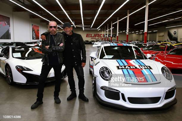 Eurocollective At Eurocar Watch Boutique Grand Opening Stock Photos