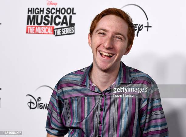 """Larry Saperstein attends the Premiere Of Disney+'s """"High School Musical: The Musical: The Series"""" at Walt Disney Studio Lot on November 01, 2019 in..."""