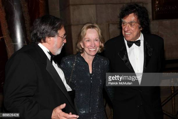 Larry Schiller Doris Kearns Goodwin and Richard Goodwin attend The First Annual NORMAN MAILER Writers Colony Benefit Gala at Cipriani 42nd Street on...
