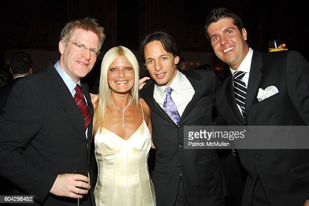 Larry Shire Lizzie Grubman and Chris Stern attend LIZZIE GRUBMAN and CHRIS STERN Wedding Reception at Cipriani 42nd on March 18 2006 in New York City