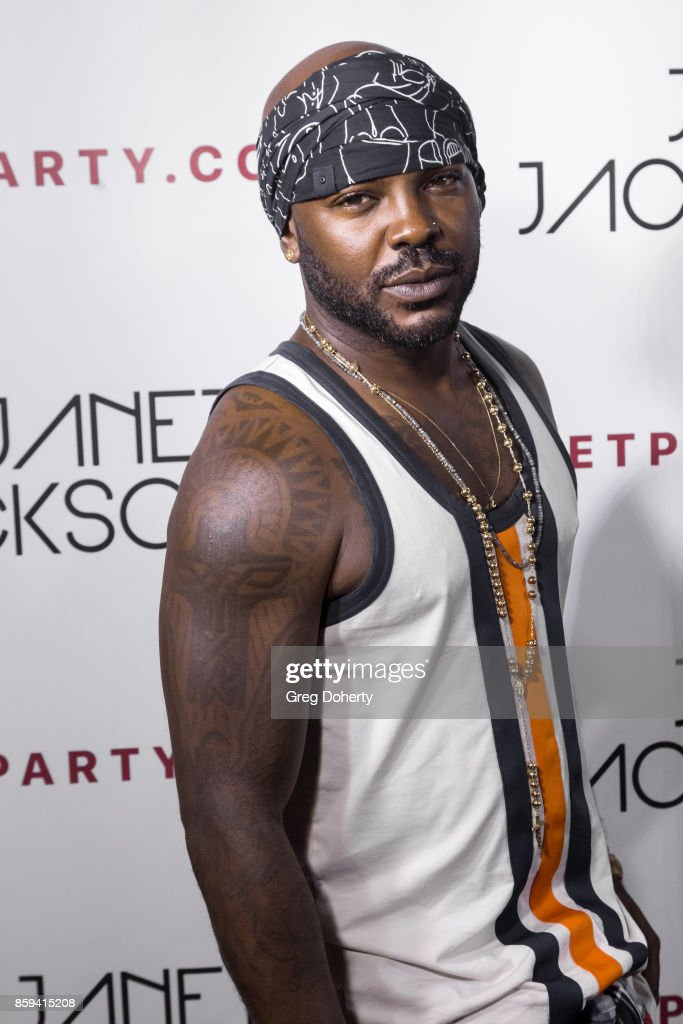 Larry Sims arrives for the Janet Jackson's State Of The World Tour After Party at Lure on October 8, 2017 in Los Angeles, California.