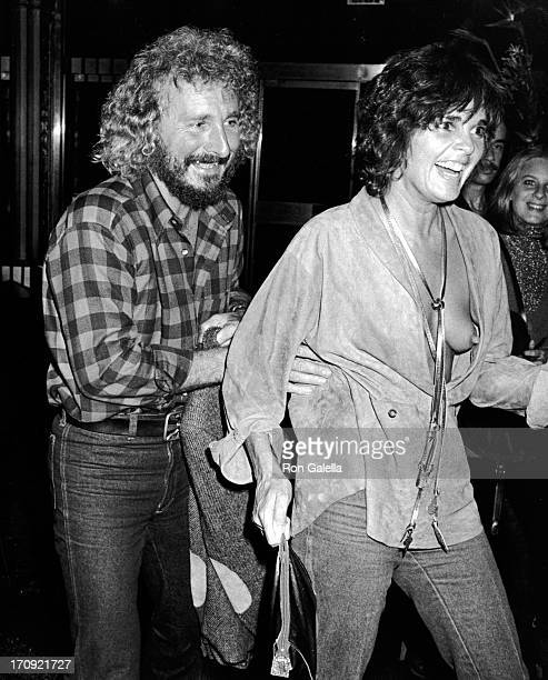 Larry Spangler and Ali MacGraw attend Diana Ross Opening Party on October 10 1978 at Studio 54 in New York City