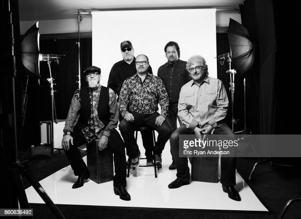 Larry Stewart John Dittrich Paul Gregg Dave Innis and Greg Jennings of American country music band Restless Heart are photographed at the 2017 CMA...