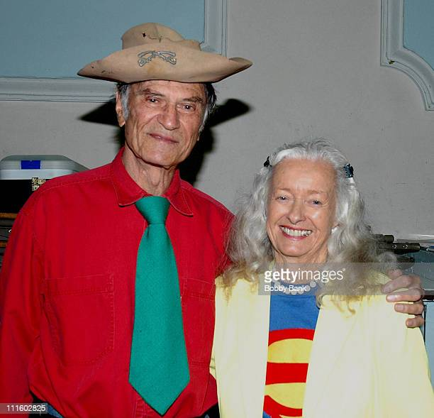 Larry Storch and Noel Neill during The Movie and TV Memorabilia Show Featuring Noel Neill and Larry Storch in New York City September 16 2006 at Holy...