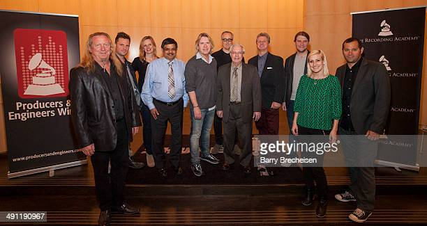 Larry Sturm PE Wing Chair Steven Gillis PE Wing Committee Member Tera Healy East Regional Director at The Recording Academy Avi Vaidya Executive VP...