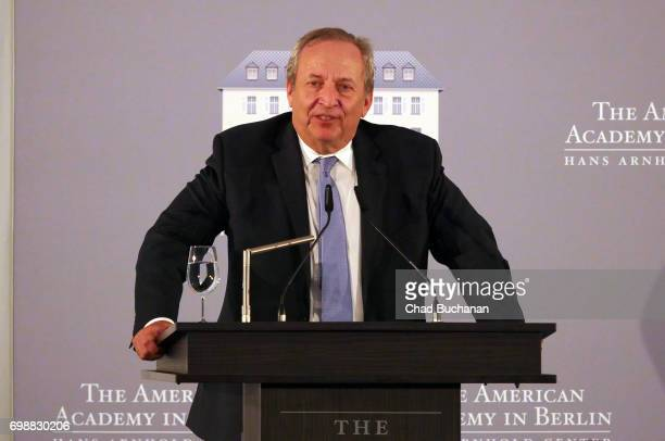 Larry Summers seen during the 2017 Henry A Kissinger Prize at the American Academy in Berlin on June 20 2017 in Berlin Germany