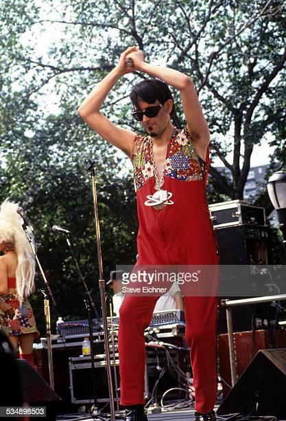 Larry Tee at Wigstock, New York, September 6, 1993.