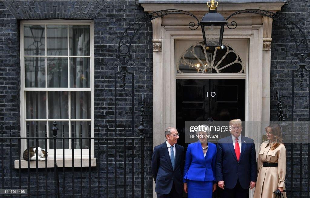 BRITAIN-US-POLITICS-DIPLOMACY : Foto di attualità