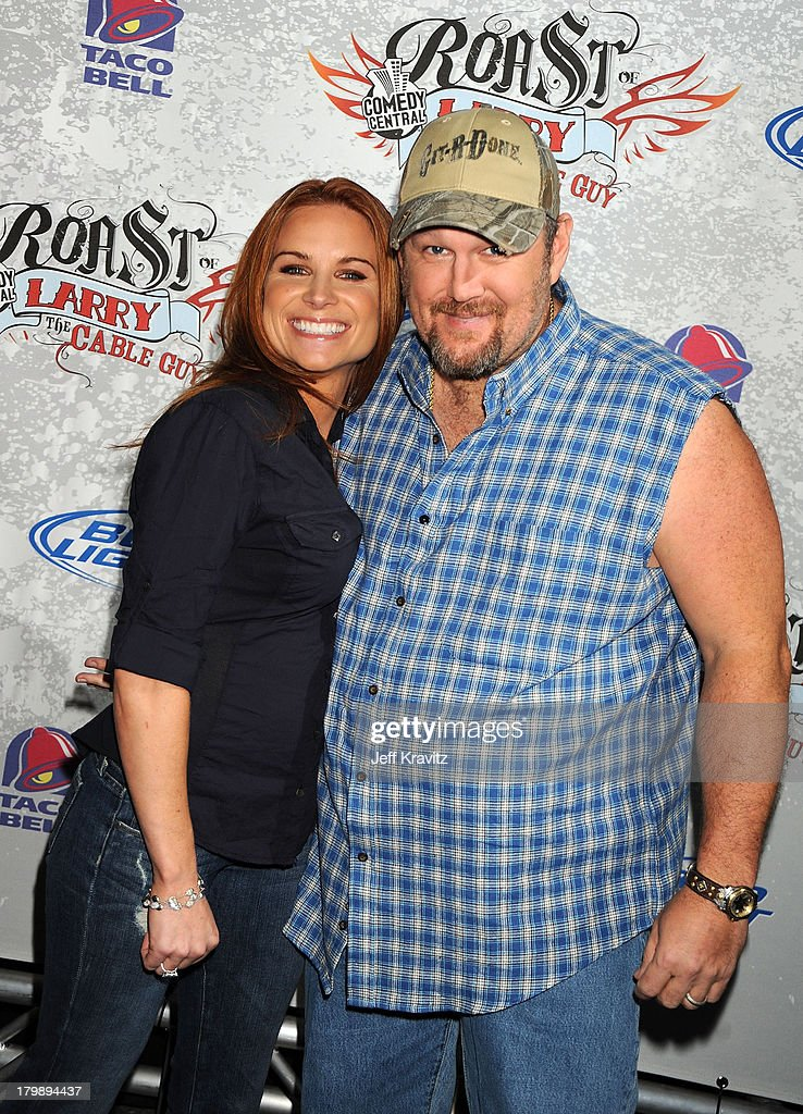 Comedy Central's Roast of Larry the Cable Guy - Arrivals : News Photo