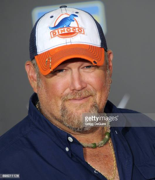 Larry The Cable Guy arrives at the premiere of Disney And Pixar's 'Cars 3' at Anaheim Convention Center on June 10 2017 in Anaheim California