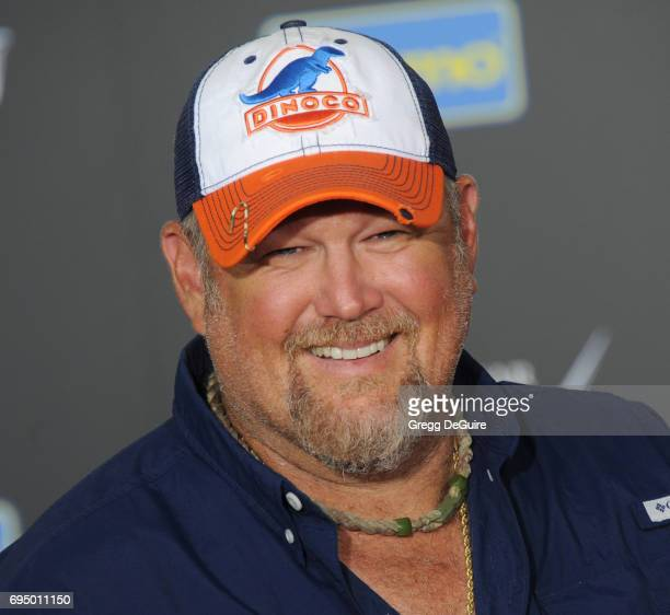 Larry The Cable Guy arrives at the premiere of Disney And Pixar's Cars 3 at Anaheim Convention Center on June 10 2017 in Anaheim California