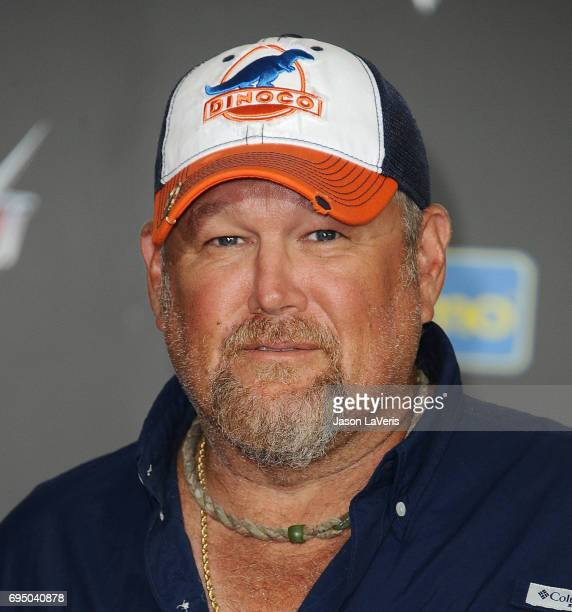 Larry the Cable Guy attends the premiere of 'Cars 3' at Anaheim Convention Center on June 10 2017 in Anaheim California