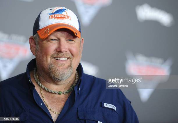 Larry the Cable Guy attends the premiere of Cars 3 at Anaheim Convention Center on June 10 2017 in Anaheim California