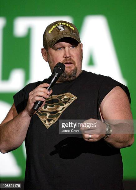 Larry The Cable Guy during 2007 ShoWest Lionsgate ShoWest Luncheon Show at Paris Hotel Ballroom in Las Vegas Nevada United States
