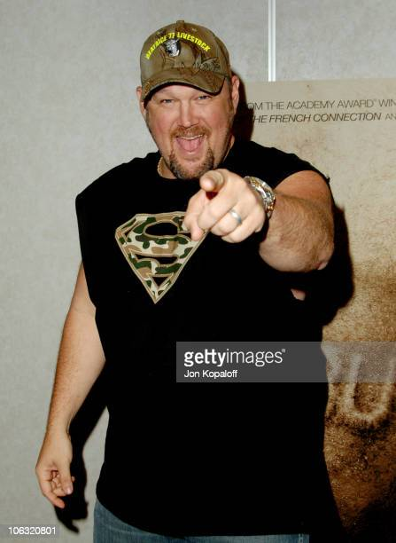 Larry The Cable Guy during Lionsgate Luncheon ShoWest 2007 at Paris Hotel in Las Vegas Nevada United States