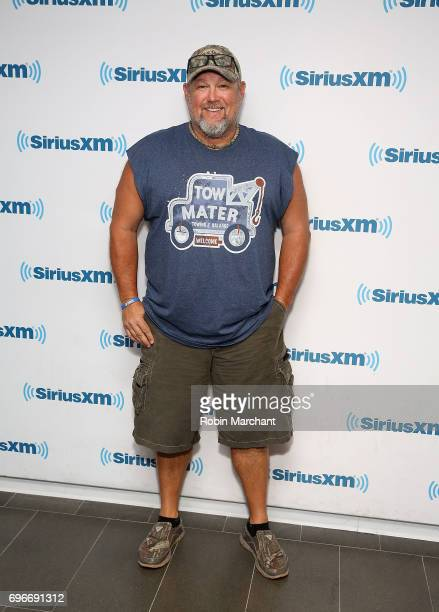Larry the Cable Guy visits at SiriusXM Studios on June 16 2017 in New York City
