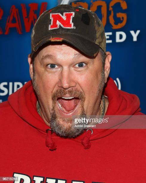 Larry The Cable Guy visits SIRIUS XM Studio on January 27 2010 in New York City