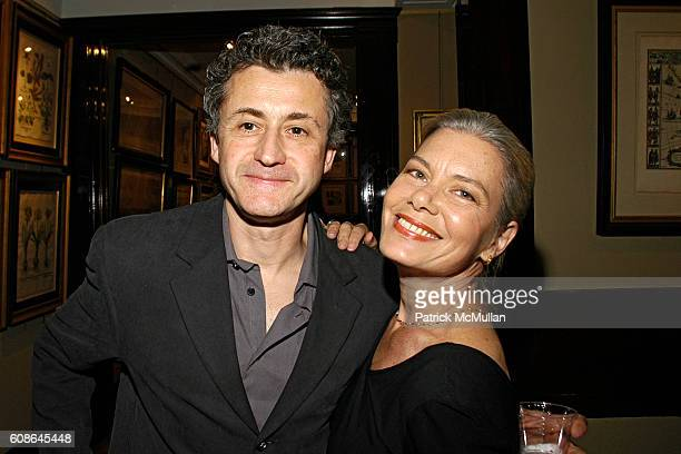 Larry Trepel and Candida Royalle attend Book Party for 'Off The Record' by NORMAN PEARLSTINE at Arader Galleries on June 25 2007 in New York City