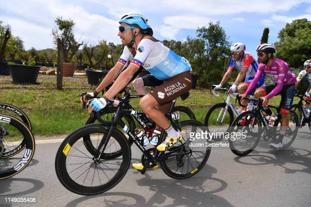 Larry Warbasse of United States and and Team AG2R La Mondiale / Peloton / during the 102nd Giro d'Italia 2019, Stage 4 a 235km stage from Orbetello...