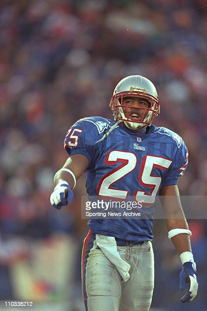 Larry Whigham of the New England Patriots during the Patriots 206 victory over the Jacksonville Jaguars in the aFC Championship Game