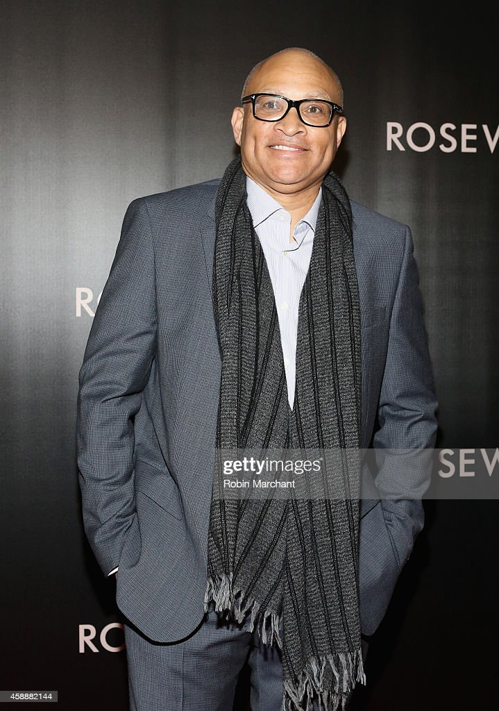 Larry Wilmore attends 'Rosewater' New York Premiere at AMC Lincoln Square Theater on November 12, 2014 in New York City.