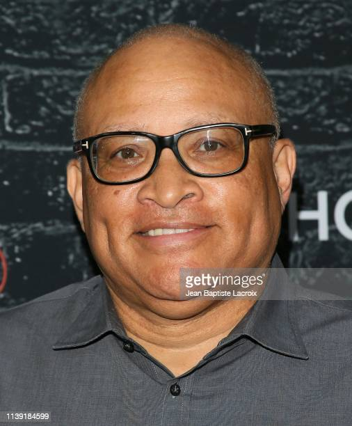"""Larry Wilmore attends the FYC red carpet event of Showtime late night series """"Desus & Mero"""" held at the Paramount Sherry Lansing Theater on April 24,..."""