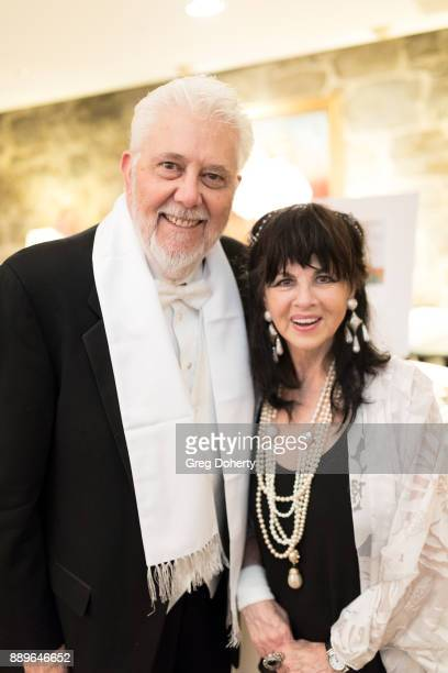 Larry Wolfe and Barbara CohenWolfe attend The Thalians Hollywood for Mental Health Holiday Party 2017 at the Bel Air Country Club on December 09 2017...