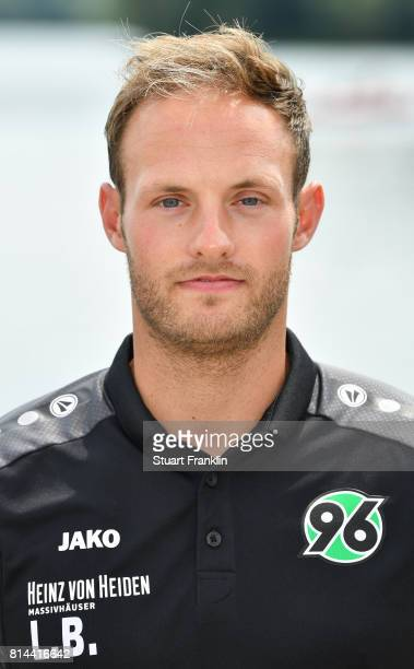 Lars Barelmann video analyst of Hannover 96 poses during the team presentation at on July 14 2017 in Hanover Germany