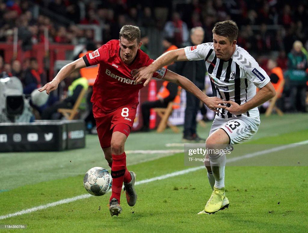 Bayer 04 Leverkusen v Sport-Club Freiburg - Bundesliga : News Photo