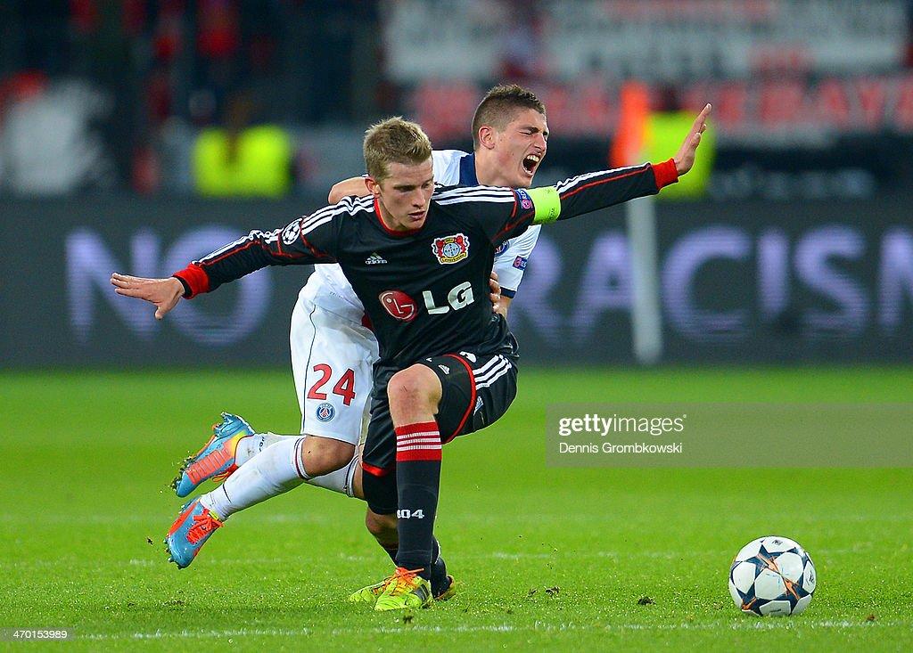 Bayer Leverkusen v Paris Saint-Germain FC - UEFA Champions League Round of 16 : News Photo