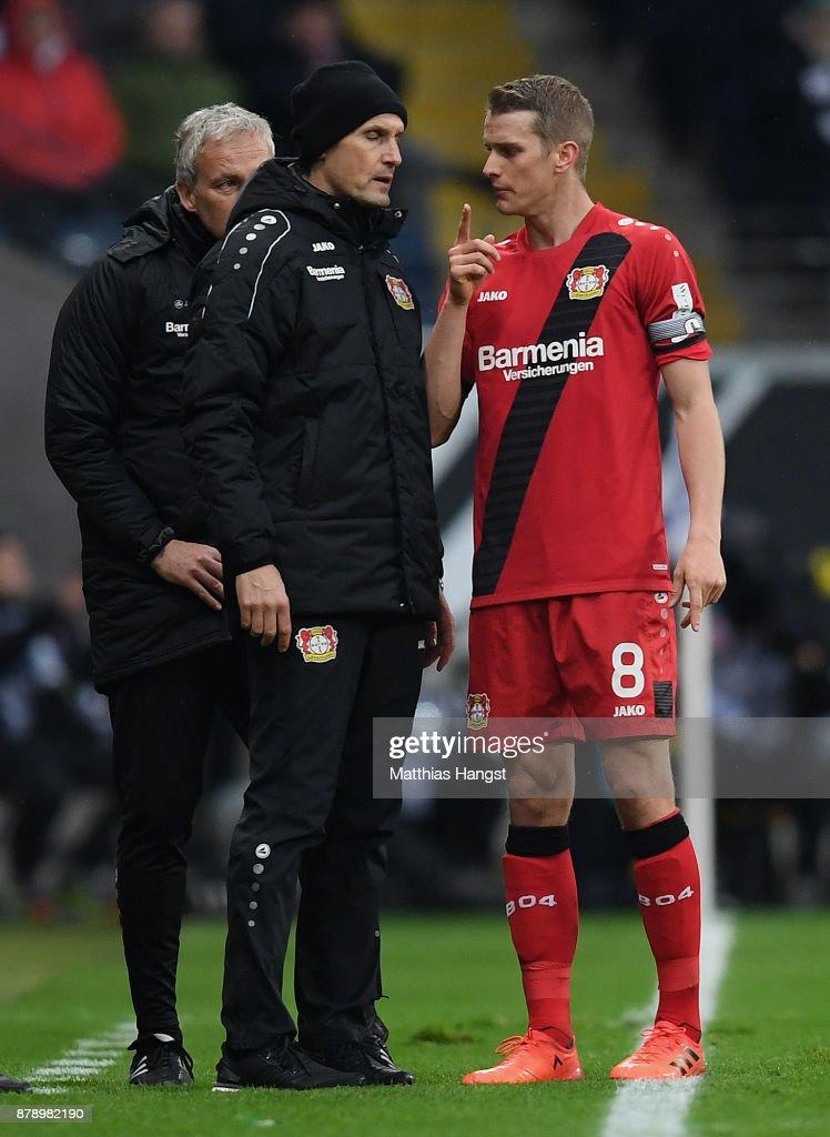 Eintracht Frankfurt v Bayer 04 Leverkusen - Bundesliga : News Photo