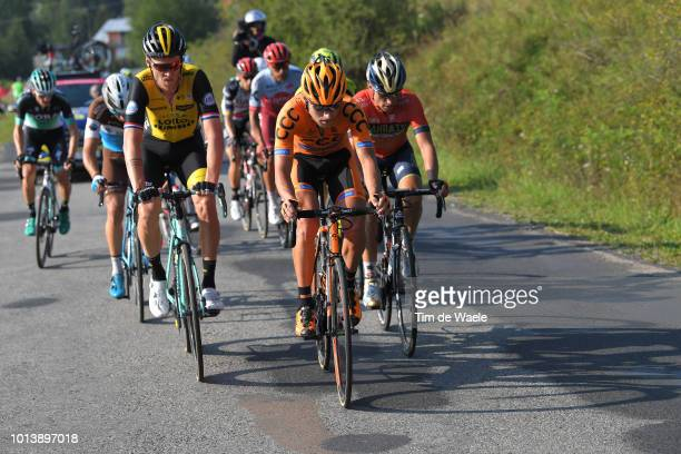 Lars Boom of Netherlands and Team Lotto Nl Jumbo / Lukasz Owsian of Poland and Team Ccc Sprandi Polkowice / Valerio Agnoli of Italy and Team...