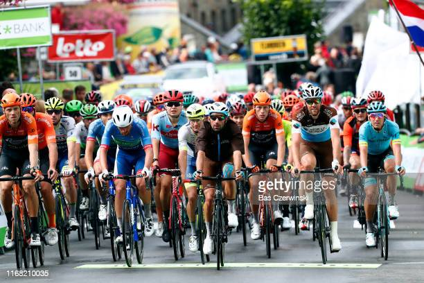 Lars Boom of The Netherlands and Team RoompotCharles / Guillaume Van Keirsbulck of Belgium and CCC Team / Julien Vermote of Belgium and Team...