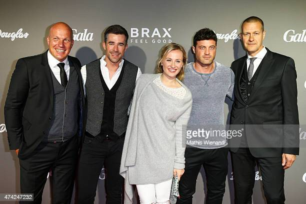 Lars Bultink Jo Weil Ania Niedieck Joerg Rohde Joachim Beer attend the BRAX Store Opening on May 20 2015 in Cologne Germany