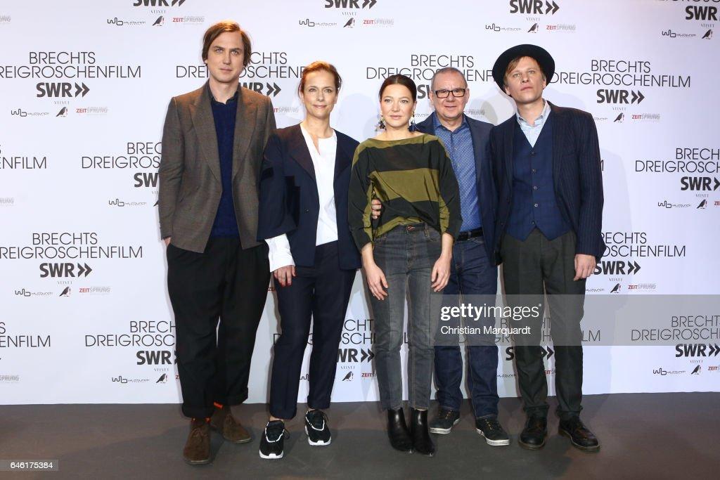 'Brechts Dreigroschenfilm' Photo Call In Berlin