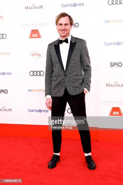 Lars Eidinger during the 46th German Film Ball at Hotel Bayerischer Hof on January 26 2019 in Munich Germany
