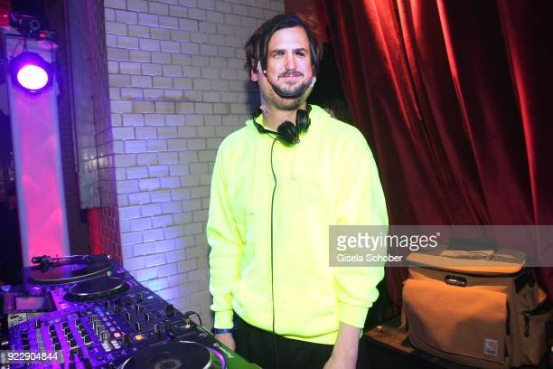 Lars Eidinger during the BUNTE BMW Festival Night 2018 on the occasion of the 68th Berlinale International Film Festival Berlin at Restaurant...