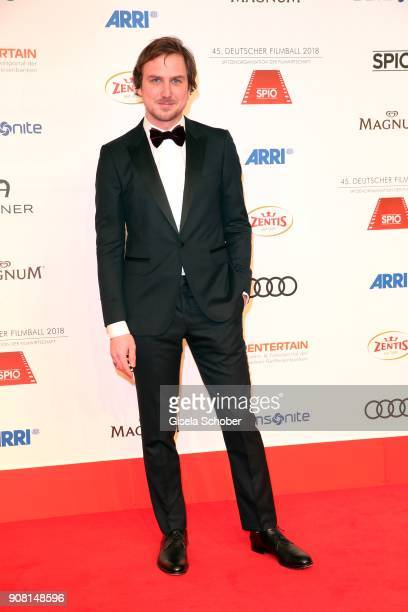Lars Eidinger during the German Film Ball 2018 at Hotel Bayerischer Hof on January 20 2018 in Munich Germany