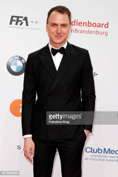 Lars Eidinger during the Lola German Film Award red carpet arrivals at Messe Berlin on April 28 2017 in Berlin Germany