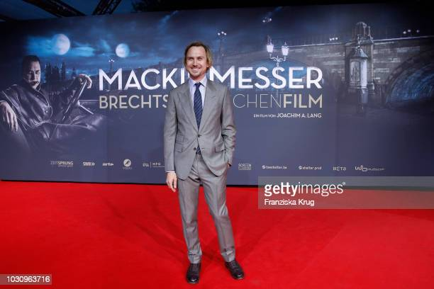 Lars Eidinger during the 'Mackie Messer Brechts Dreigroschenfilm' premiere at Zoo Palast on September 10 2018 in Berlin Germany